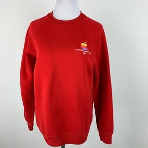 Vintage Apple Rainbow Western Operation Sweatshirt